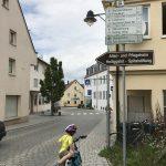 dintorni di günzburg in bicicletta