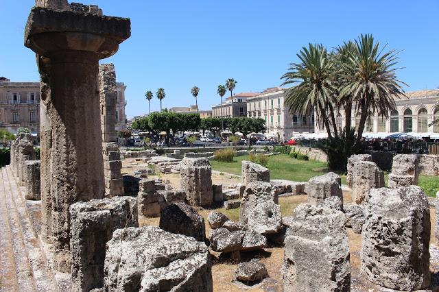 cosa vedere a siracusa: il tempio di apollo