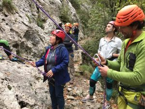 freeclimbing sulle Alpi Apuane