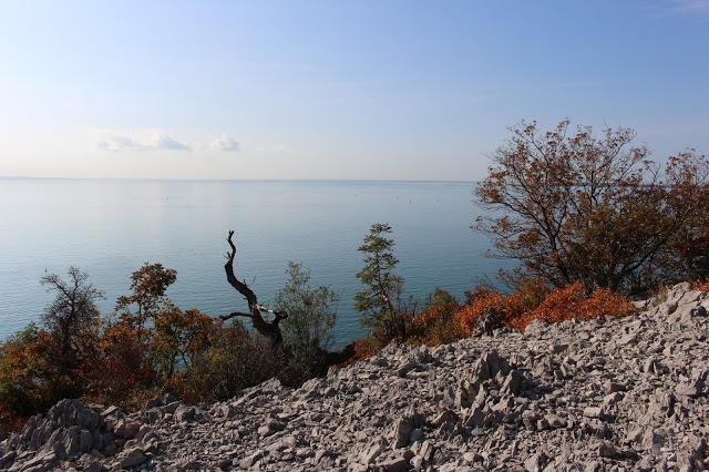 sentiero di rilke vista mare