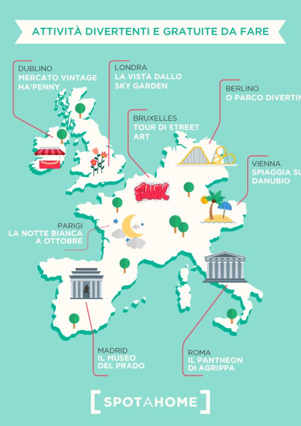 Scegliere dove fare l'Erasmus: non solo studio, ma anche attività sportive e culturali