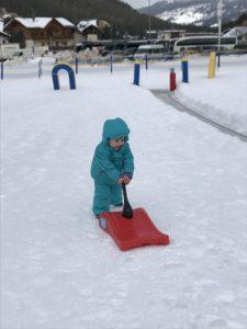 giochi sulla neve corvara