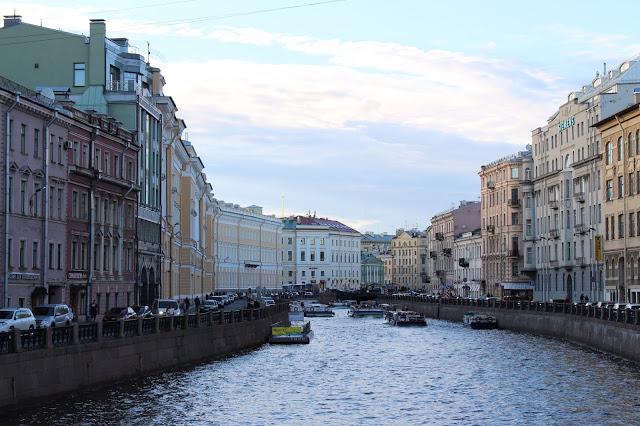 Prospettiva Nevskij a San Pietroburgo