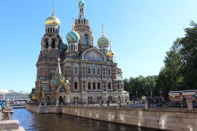 Chiesa del Salvatore sul sangue versato San Pietroburgo
