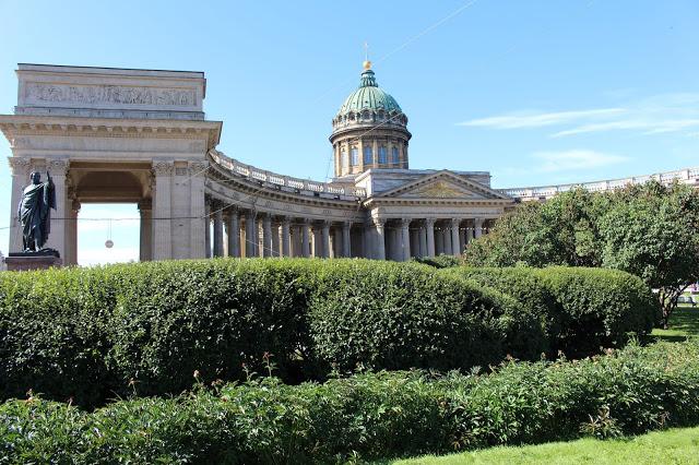 biblioteca russa lungo la Prospettiva Nevskij a San Pietroburgo