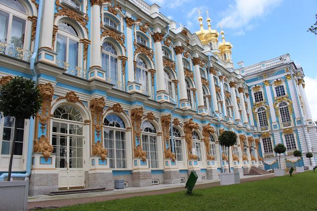palazzo di caterina a Pušhkin
