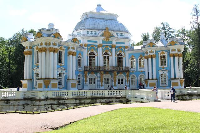 pavillon del palazzo di caterina a Pušhkin