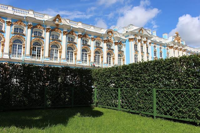giardino del palazzo di caterina a Pušhkin
