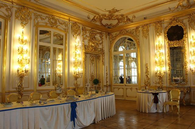 sala interna del palazzo di caterina a Pušhkin