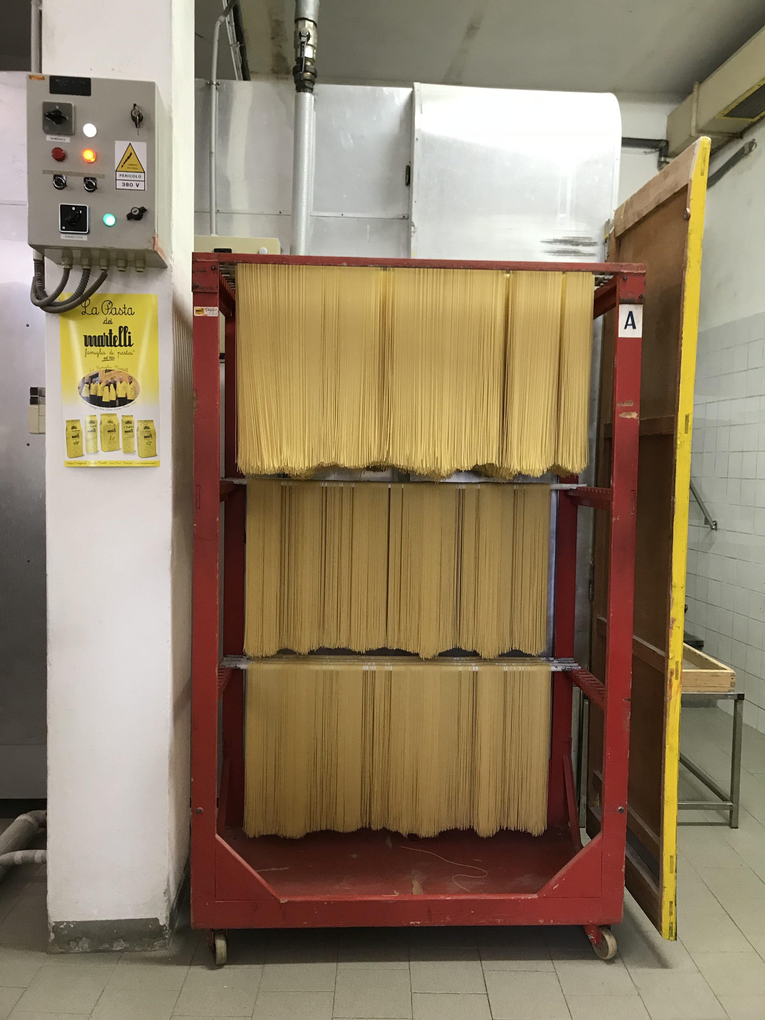 pasta martelli essiccatore