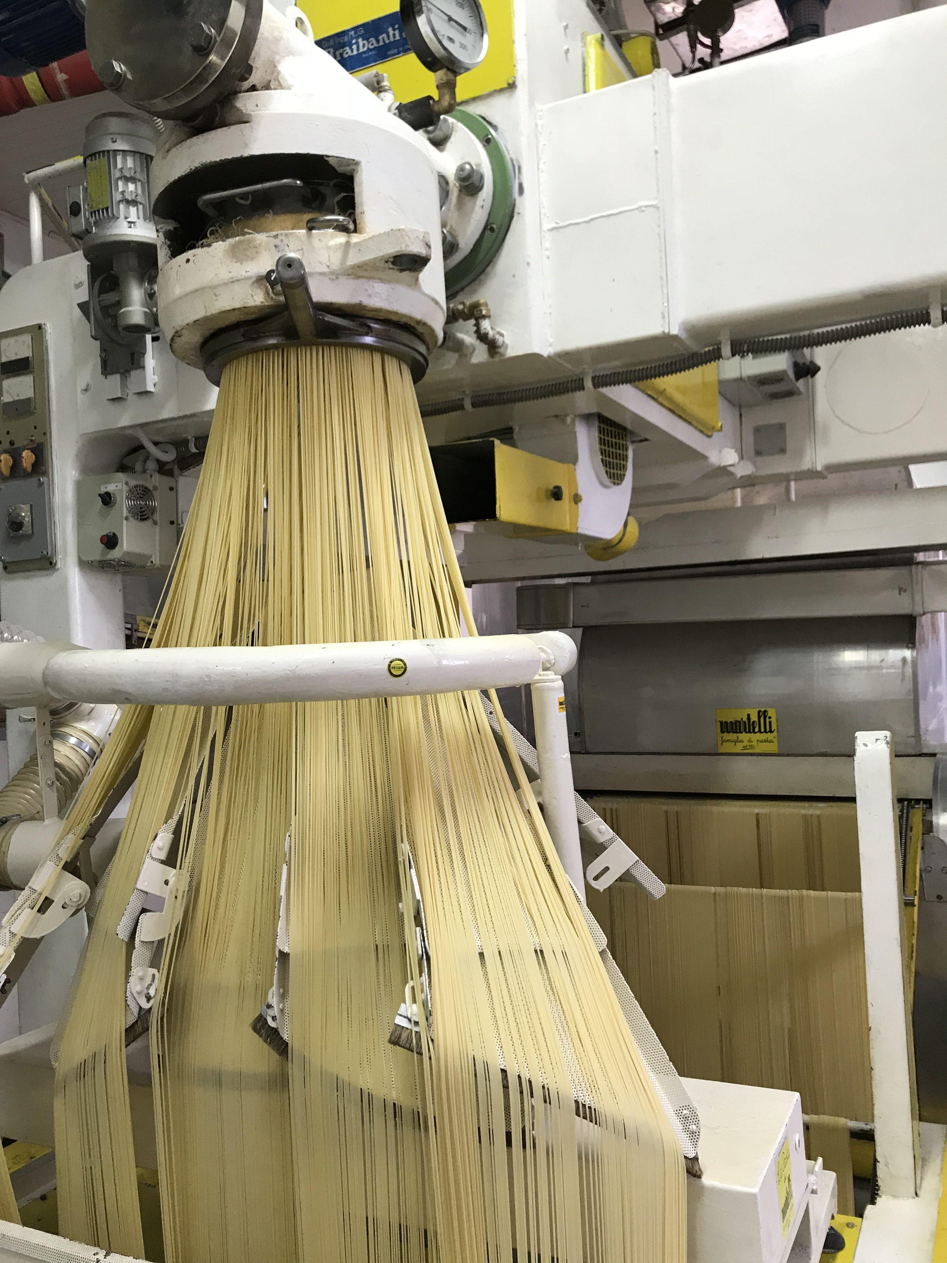 pasta martelli estrusore spaghetti