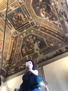 castello di ferrara affreschi con specchi