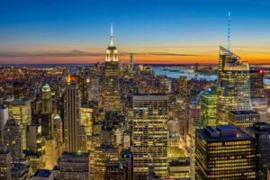 new york al tramonto