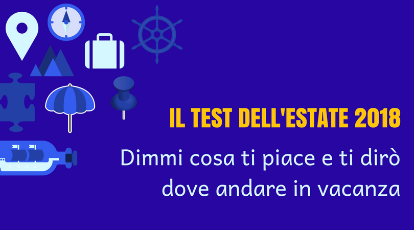 il test dell estate 2018