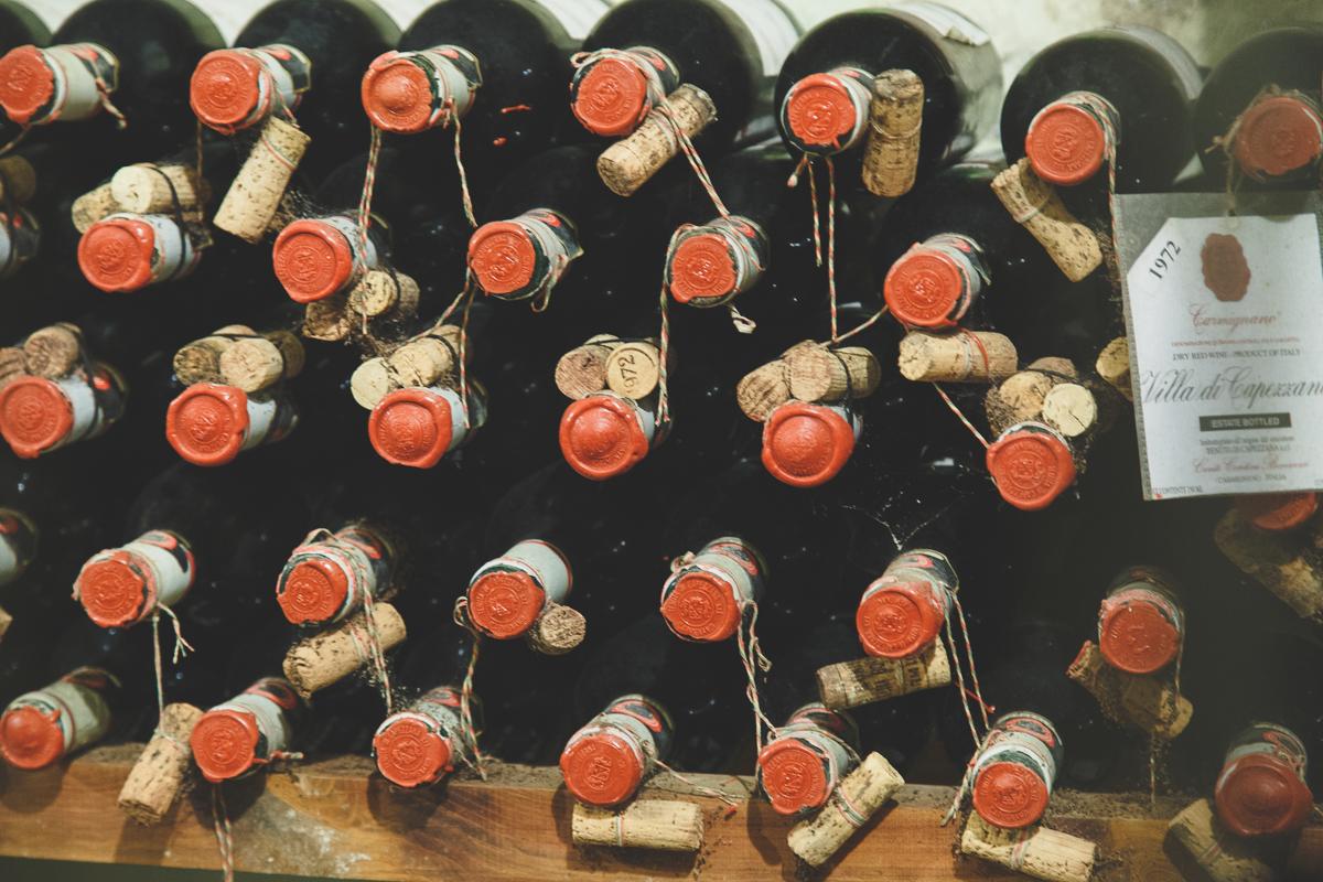 vecchi vini capezzana