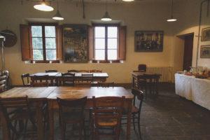 tenuta di capezzana wine bar sala colazioni