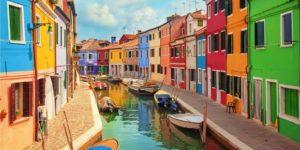 isole attorno a venezia burano
