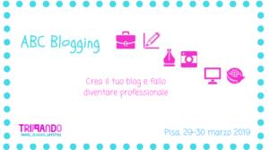 ABC Blogging corso base per blogger