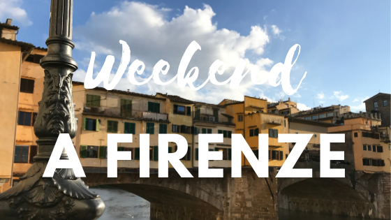 weekend a firenze