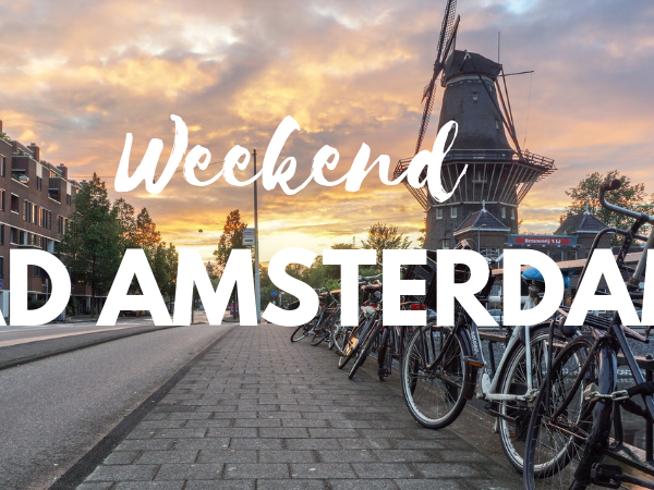 Weekend AD AMSTERDAM