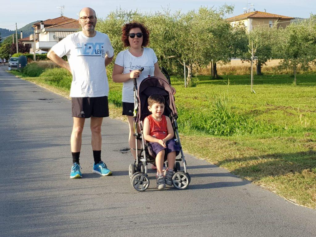 passeggiata in famiglia