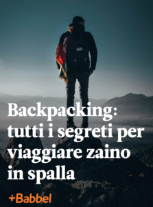 Backpacking-zaino in spalla-ebook