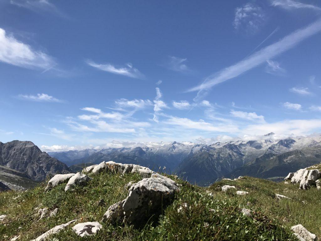 montagna in estate passeggiate