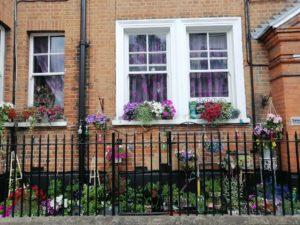 finestre romantiche londra