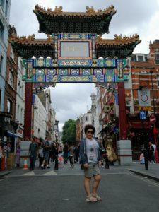 silvia ceriegi a chinatown londra