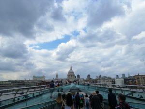 st paul londra vista dal millennium bridge