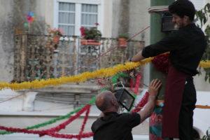 festoni a lisbona per il 12 e 13 giugno festa di sant antonio