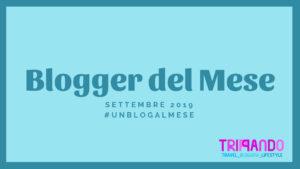 blogger del mese di settembre