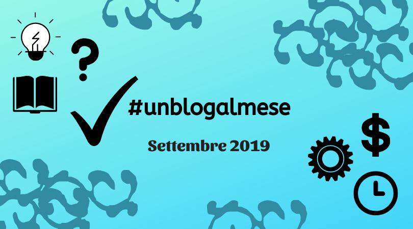 #unblogalmese settembre 2019
