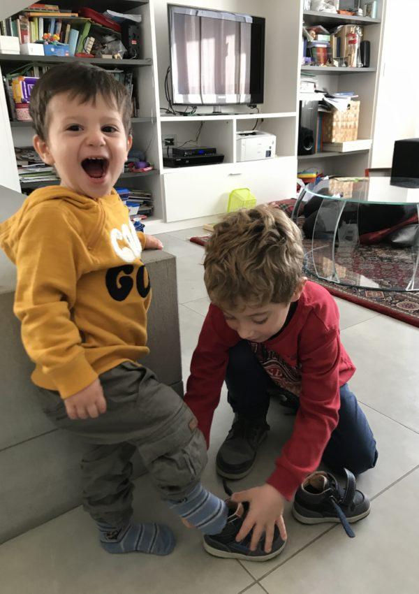 Il giorno del doppio: tanto figlio unico quanto fratello maggiore.