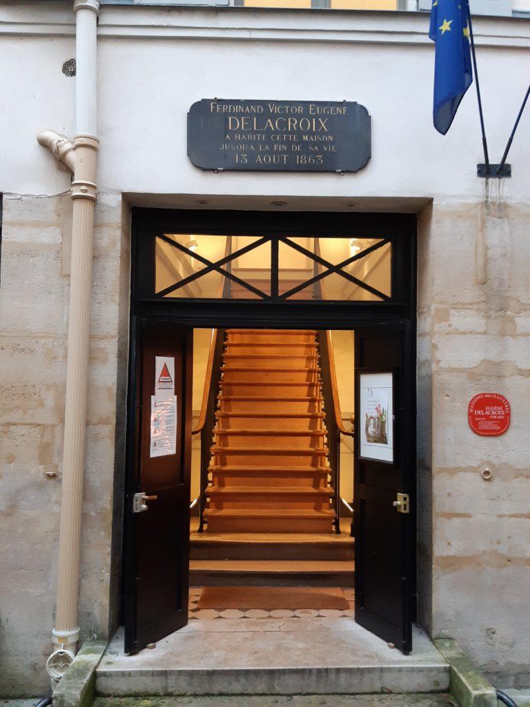casa di Delacroix a parigi