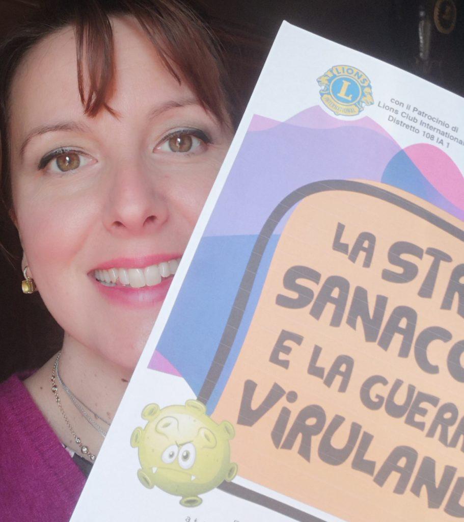 fiaba La strega Sanaconda e la guerra di Virulandia di Gabriella De Paoli
