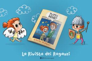 La piccola Martina, mascotte della rivista illustrazione di Paola Patrizi