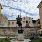 Piazza Centauro a Pietrasanta