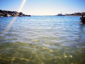 Playa de las vistas a tenerife