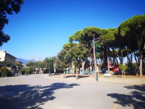 piazza Tonini a Forte dei Marmi