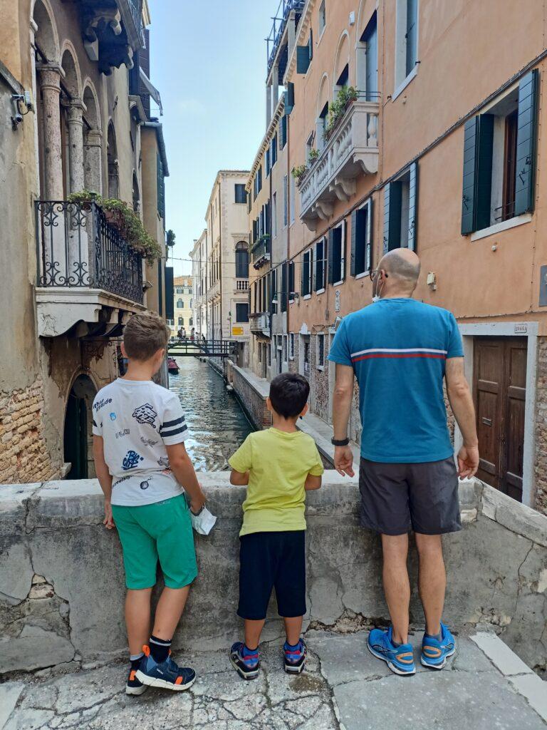 colpiti dalla bellezza di venezia