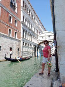 il ponte dei sospiri a venezia